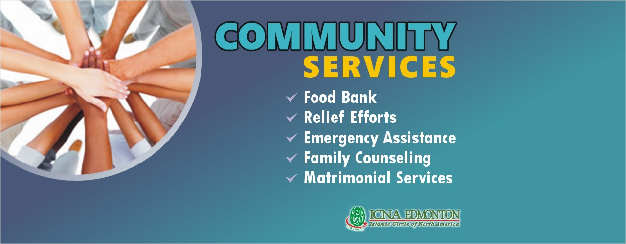 ICNA Provide Community Services to the Edmonton Muslim Community.